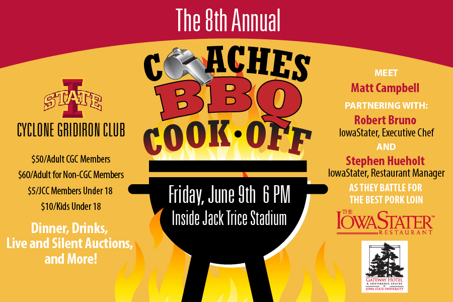 COACHES COOK-OFF POSTER 6x4